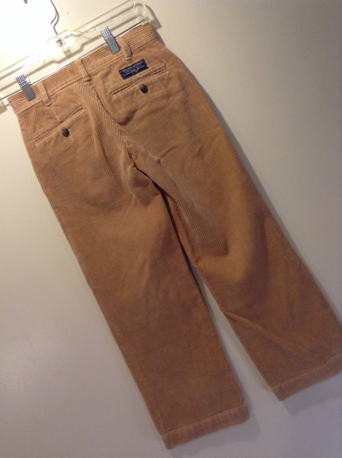 Size 10 Brown Corduroy Casual Pants Polo by Ralph Lauren Alex Day