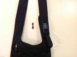 Nine West Black Shoulder Bag Fabric Mash Polyester image 3
