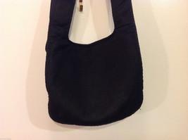 Nine West Black Shoulder Bag Fabric Mash Polyester image 5