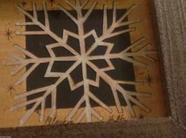 Simple snowflake  Paper Cutting scherenschnitte fraktur