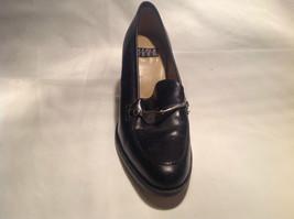 Nine West Black Heels Closed Toe Closed Heel Tan Insole Size 10 Medium image 8