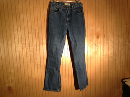 Size 10 St Johns Bay Denim Blue Jeans Boot Cut Great Condition