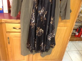 Nine West dress New with tags black with floral image 2