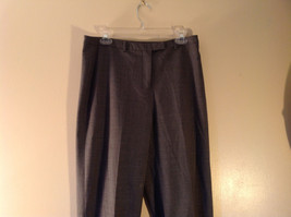 Size 12  Gray  J McLaughlin Dress Pants Made in USA