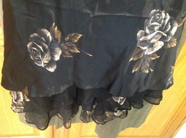 Nine West dress New with tags black with floral image 3