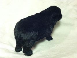 North American Black Sheep Animal Figurine - recycled rabbit fur image 3