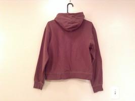 OPI Girl Wine Colored Hooded Sweatshirt Thousand Island Winery Size Medium image 2