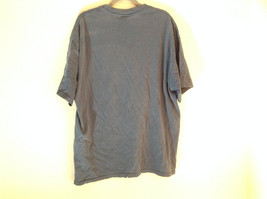O & M Heavy Weight Navy Blue Short Sleeve Graphic T-Shirt 100% Cotton Size XL image 4