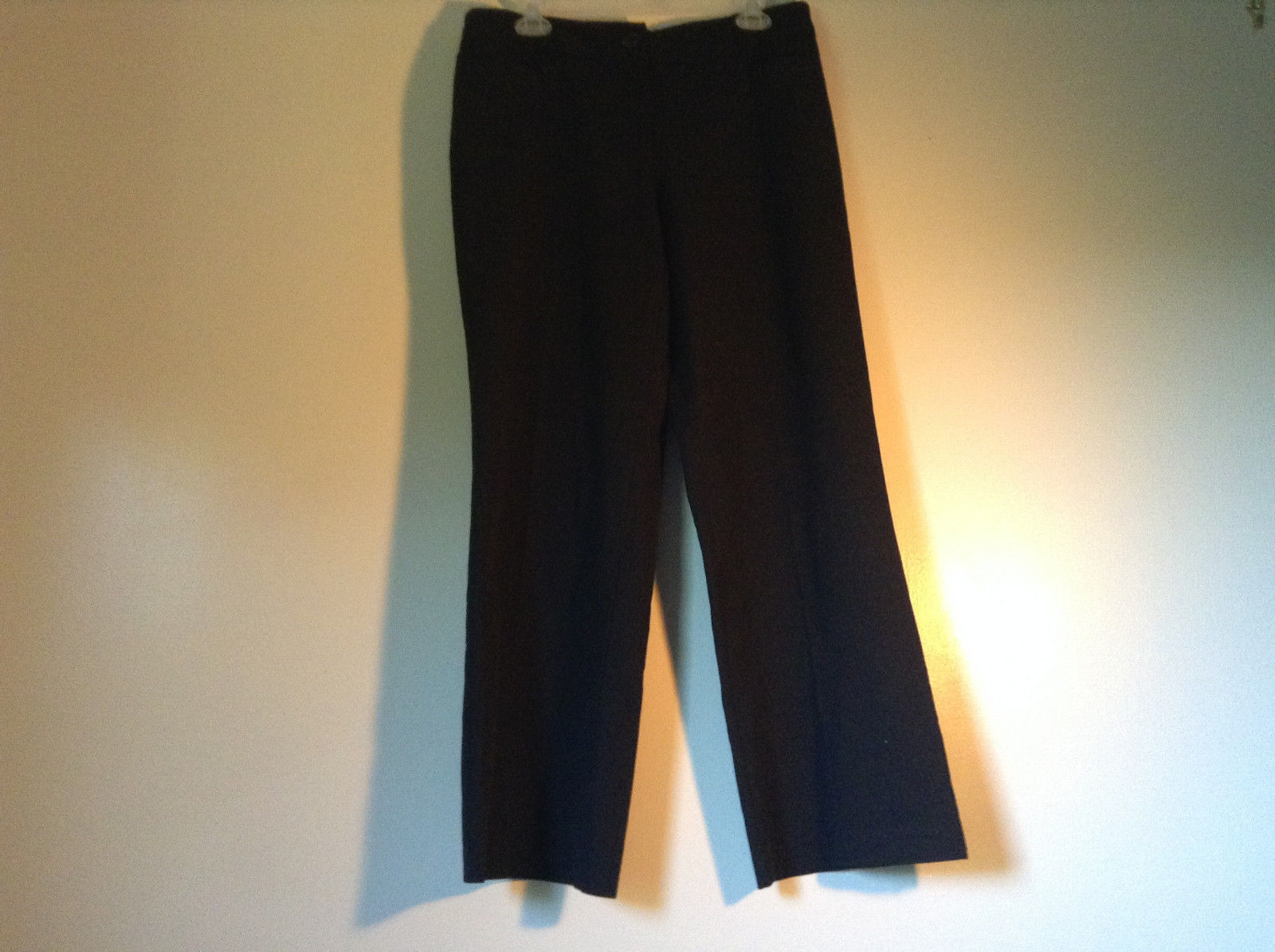 Size 12P Black Dress Pants Front and Back Pockets Business Studio 1940