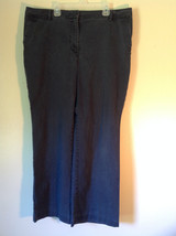 Size 16P Talbots Petites Heritage Boot Pants Zipper and Clasp Closure