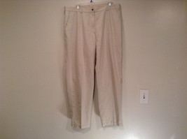 Size 18P 100 Percent Cotton White Casual Pants L L Bean