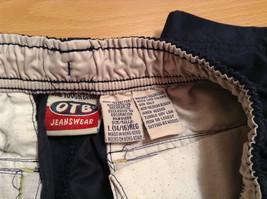 OTB Surf Size Large 14 to 16 Regular Shorts Lots of  Pockets Elastic Waist image 6