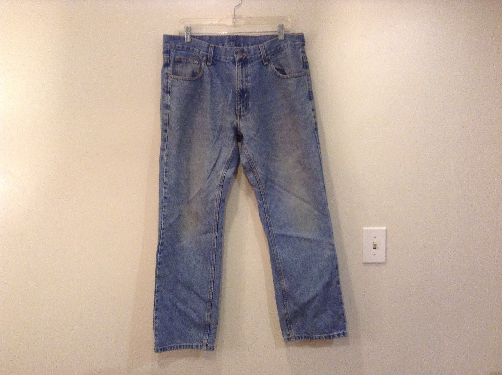 Size 36 by 30 Mag Blue Denim Jeans 100 Percent Cotton
