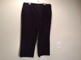 Size 40 by 30 Tommy Hilfiger Plus Size 100% Cotton Dark Blue Black Casual Pants