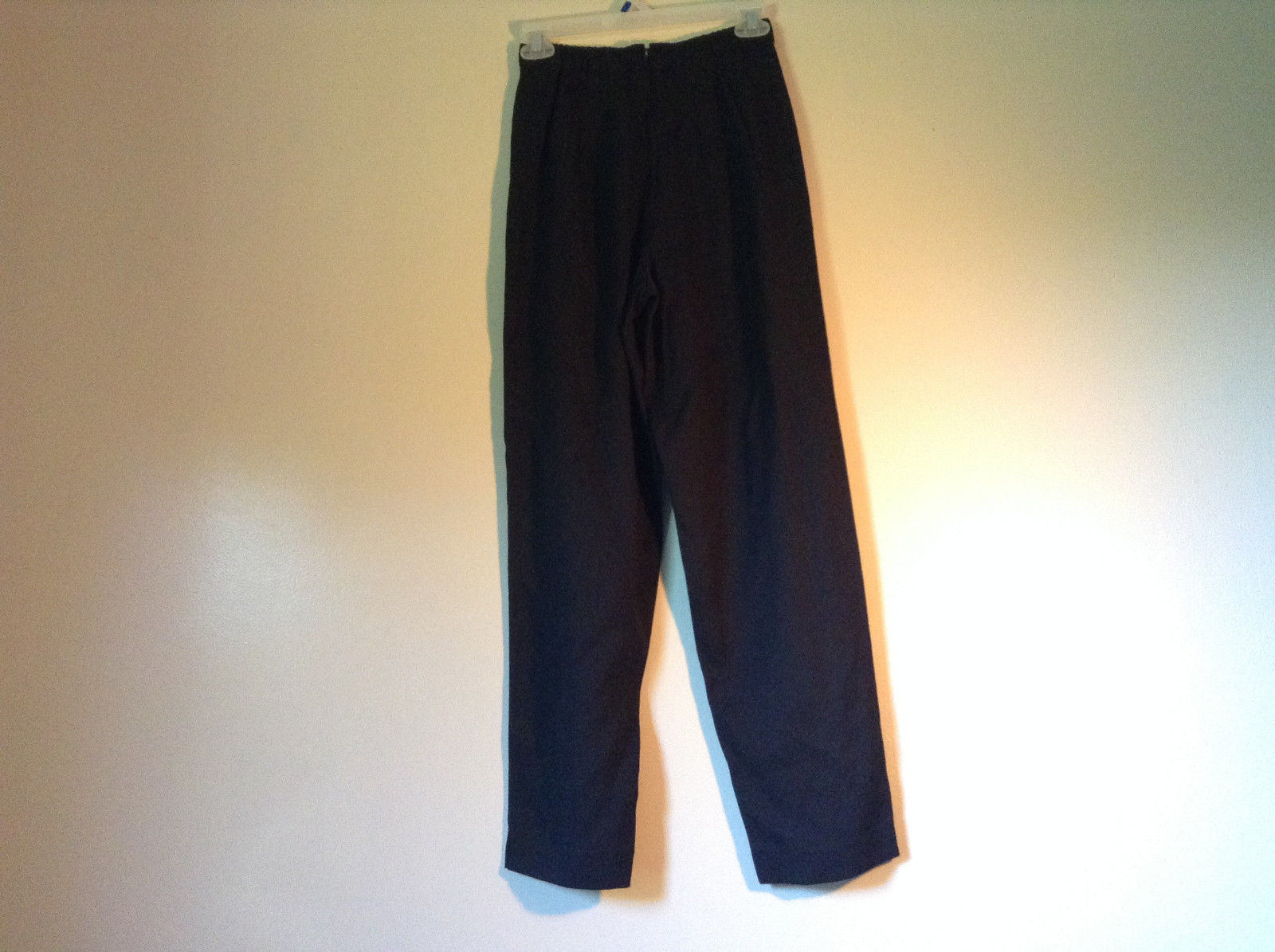 Size 6 Petite Black Sweat Pants No Brand Tag