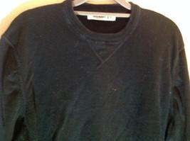 Old Navy Black Crew Neck Long Sleeve Sweatshirt Size XL image 3