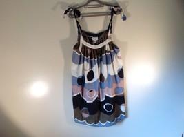 Size M 100 Percent Cotton Paradise NY Multicolored Dress Adjustable Straps Light
