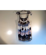 Size M 100 Percent Cotton Paradise NY Multicolored Dress Adjustable Stra... - $29.69