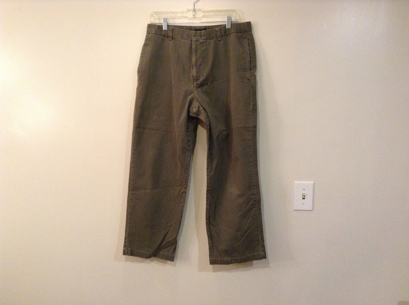 Size W34 L29 100 Percent Cotton Dockers Recode Gray Casual Pants