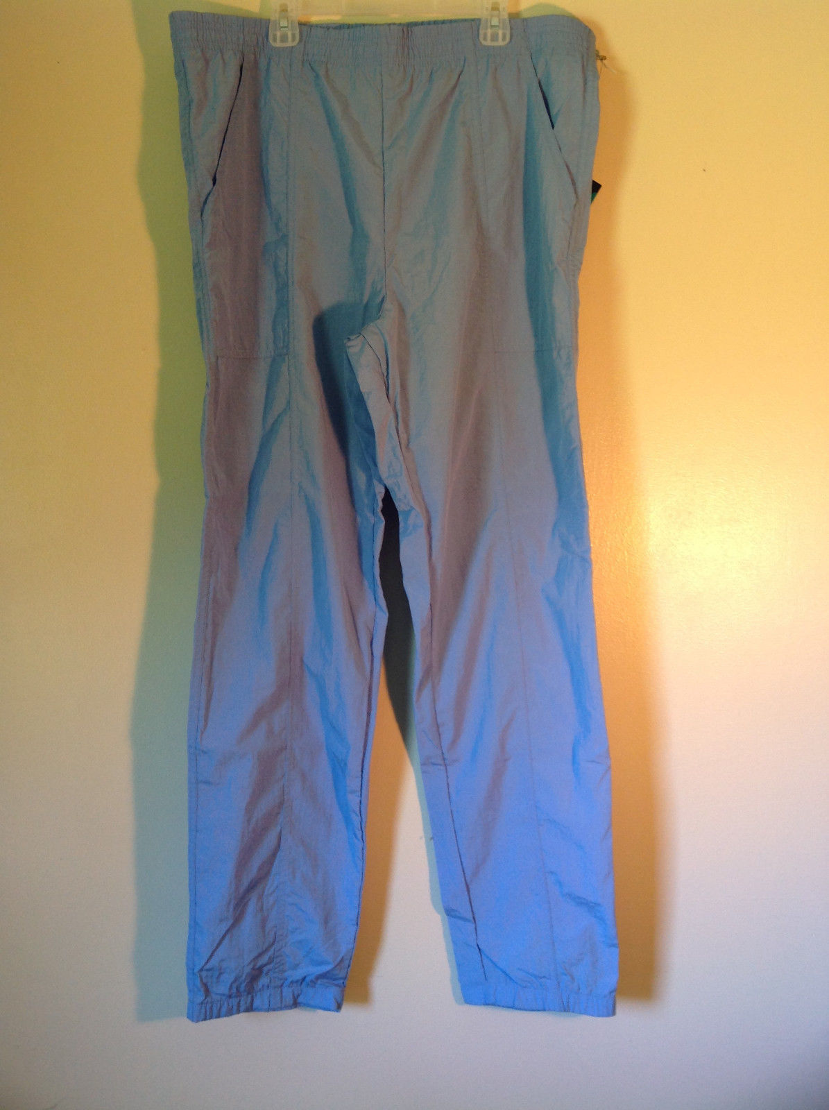 Size Medium Duffel Casual Pants with Elastic Waist Tags Attached Made in USA