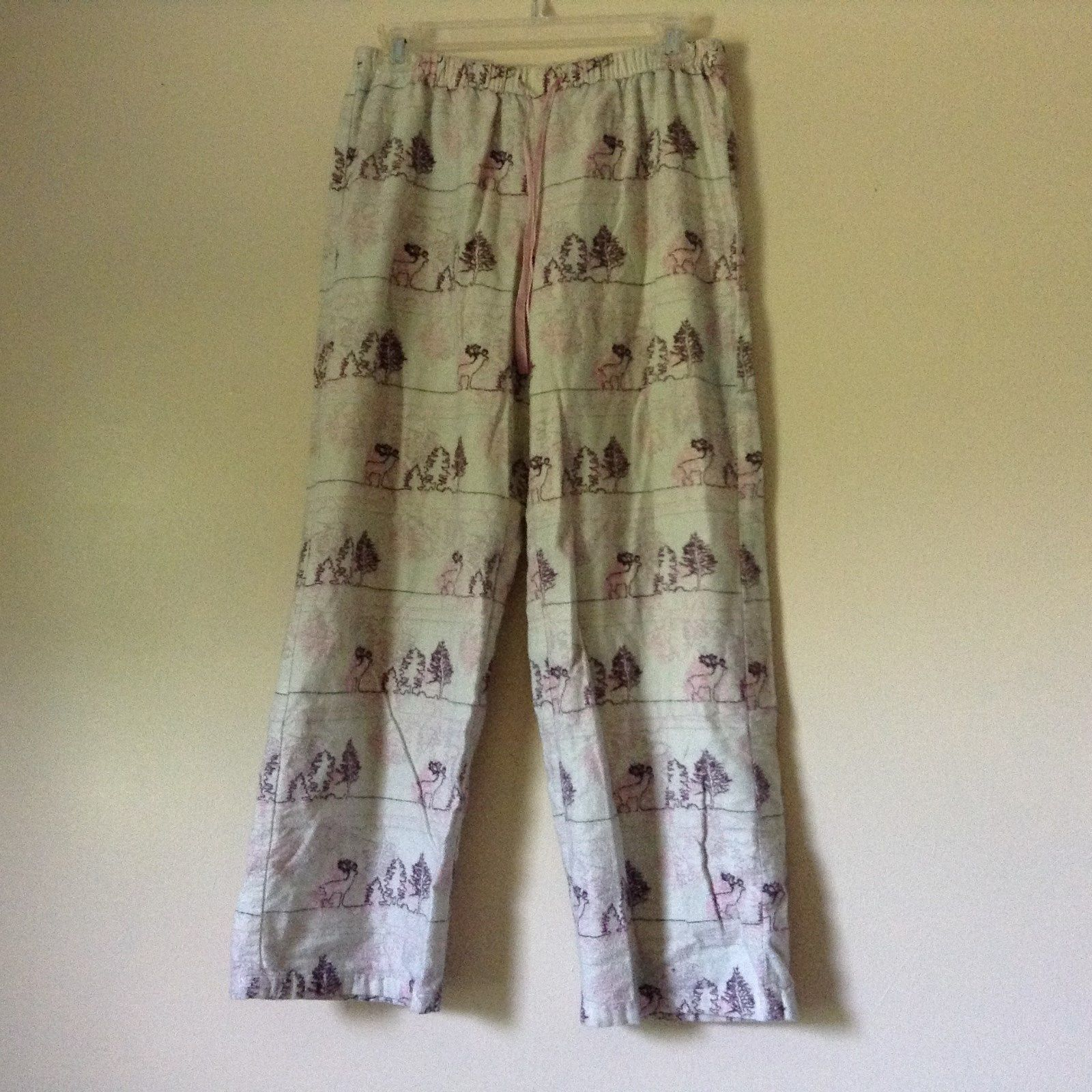 Sleepwear Pajama Pants Reindeer Size Small