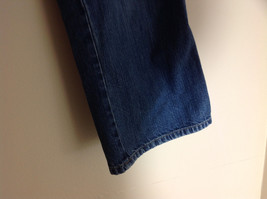 Old Navy Ultra Low Waist Capri Blue Jeans Front and Back Pockets Size 8 image 5