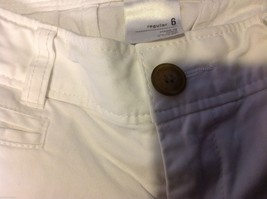 Old Navy White Long Jeans Boot Cut Regular size 6 image 2