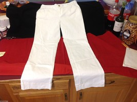 Old Navy White Long Jeans Boot Cut Regular size 6 image 6