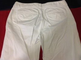 Old Navy White Long Jeans Boot Cut Regular size 6 image 3
