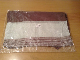 Ombre Brown & White Long Sleeve Cardigan One Size New w glitter sparkle image 7