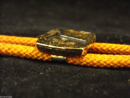"""Orange Bolo Tie with """"T"""" on the clasp image 5"""