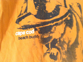 Orange Cuffys of Cape Code Beach Buddy T Shirt Size XL 18 to 20 image 2