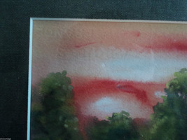 Original Water Color Painting of Hudson Valley pasture by Vivian Gaines Tanner image 3