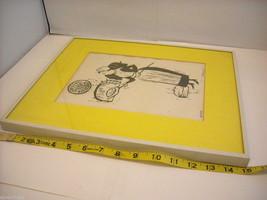 Original Wood Block Print of a Baker Artist Constantine Kermes 1965 image 7