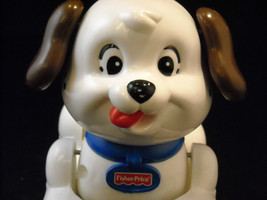 Pair of Motorized Dogs, Plush Poodle and Fisher Price Rolling Dog image 7