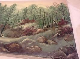 Painting Original Foggy Waterfall Vivian Gaines Tanner Hudson Valley Artist image 5