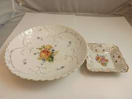 Pair of Vintage Dishes - Semi Vitreous Opaque China and Bavaria Schumann Germany image 5