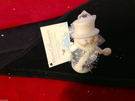 Snow globe ornament little snowman department 56 new