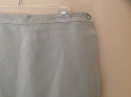 Pale Green matching Sleeveless Shirt and Skirt Set Eileen Fisher Size Size Small image 8