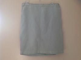 Pale Green matching Sleeveless Shirt and Skirt Set Eileen Fisher Size Size Small image 7