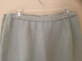 Pale Green matching Sleeveless Shirt and Skirt Set Eileen Fisher Size Size Small image 10