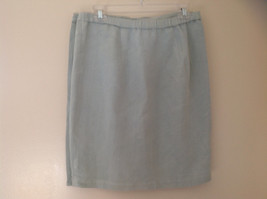 Pale Green matching Sleeveless Shirt and Skirt Set Eileen Fisher Size Size Small image 11