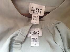 Pale Green matching Sleeveless Shirt and Skirt Set Eileen Fisher Size Size Small image 12
