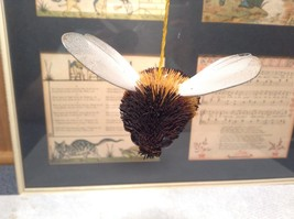 Palm Fiber Bumble Bee Insect Brush  Eco Fiber Sustainable Made in Philippines image 2