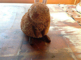 Palm Fiber Brown Rabbit  Brush Eco Fiber Sustainable Made in Philippines image 6