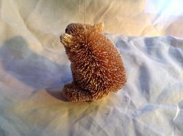 Palm Fiber Polar Bear Brush Animal Eco Fiber Sustainable Ornament image 3