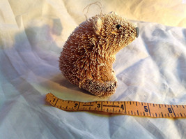 Palm Fiber Polar Bear Brush Animal Eco Fiber Sustainable Ornament image 6