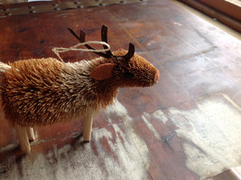 Palm Fiber Elk Brush Animal Eco Fiber Sustainable Ornament Made in Philippines image 2