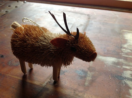 Palm Fiber Elk Brush Animal Eco Fiber Sustainable Ornament Made in Philippines image 5