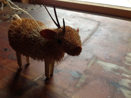 Palm Fiber Elk Brush Animal Eco Fiber Sustainable Ornament Made in Philippines image 6